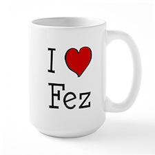 I love Fez Mug