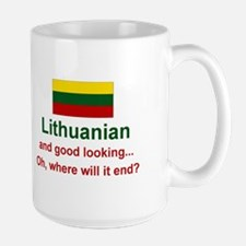 Good Looking Lithuanian Mug