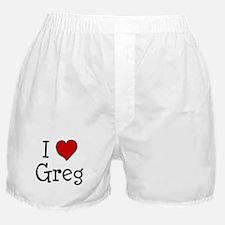 I love Greg Boxer Shorts
