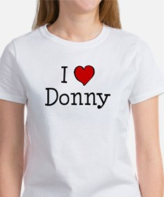 I love Donny Women's T-Shirt
