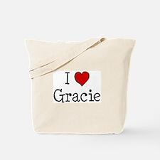 I love Gracie Tote Bag