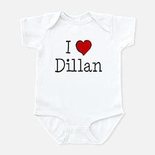 I love Dillan Infant Bodysuit