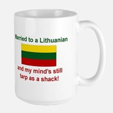 Married To A Lithuanian Mug
