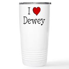 I love Dewey Travel Mug