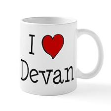 I love Devan Mug