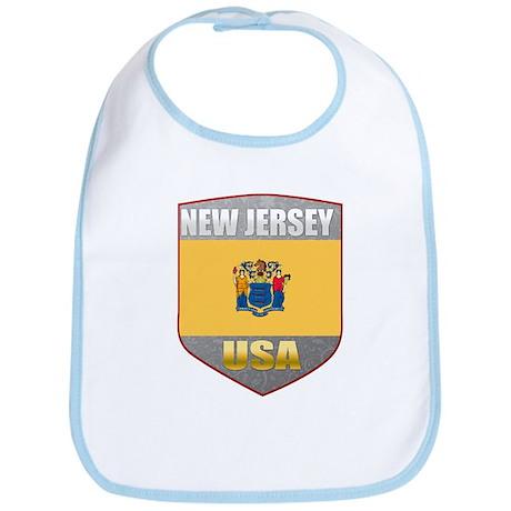 New Jersey USA Crest Bib