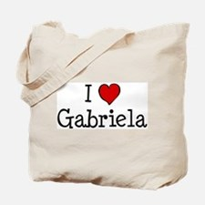 I love Gabriela Tote Bag
