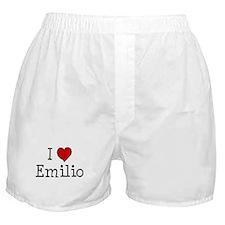 I love Emilio Boxer Shorts