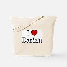 I love Darian Tote Bag