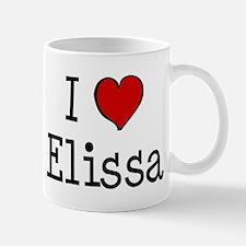 I love Elissa Mug