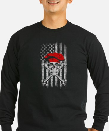 Chef Skull and Crossbones Long Sleeve T-Shirt