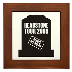Headstone Tour Framed Tile