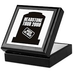 Headstone Tour Keepsake Box