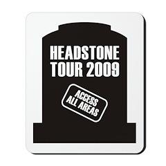 Headstone Tour Mousepad