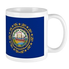 Beloved New Hampshire Flag Mo Mug