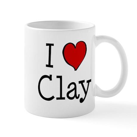 I love Clay Mug