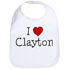 I love Clayton Bib