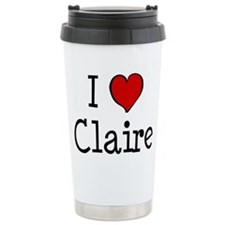 I love Claire Travel Mug
