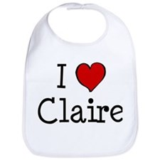 I love Claire Bib