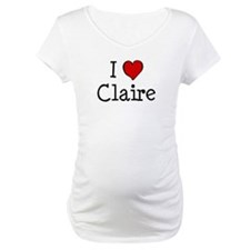 I love Claire Shirt