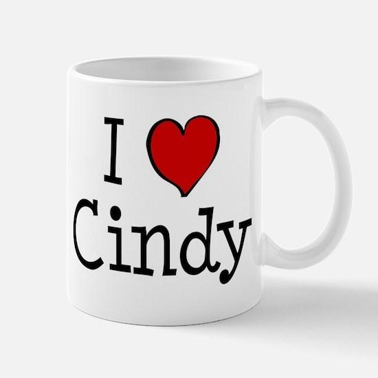 I love Cindy Mug