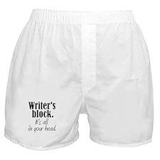 Writer's Block Boxer Shorts