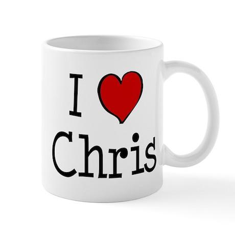 I love Chris Mug