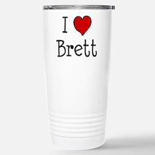 I love Brett Travel Mug