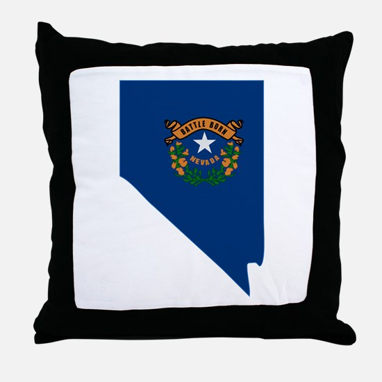 Nevada Stripe Custom Design Throw Pillow