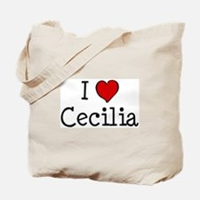 I love Cecilia Tote Bag
