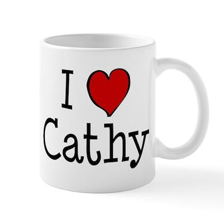 I love Cathy Mug