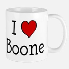 I love Boone Small Small Mug