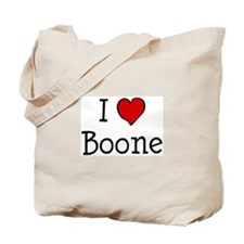 I love Boone Tote Bag