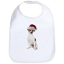 Jack Russell Terrier Xmas Bib