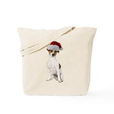Jack Russell Terrier Xmas Tote Bag