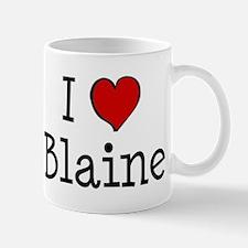 I love Blaine Mug