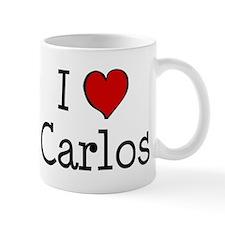 I love Carlos Small Small Mug