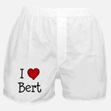 I love Bert Boxer Shorts
