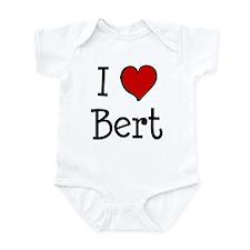 I love Bert Infant Bodysuit