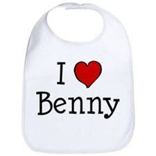 I love Benny Bib