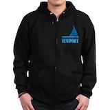 Sail newport Zip Hoodie (dark)