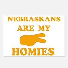 Nebraskans are my homies Postcards (Package of 8)