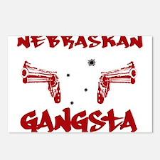 Nebraskan Gangsta Postcards (Package of 8)