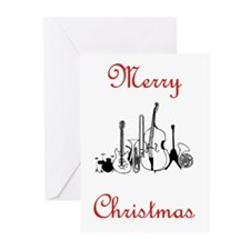 Musicial Christmas Greeting Cards (Pk of 10)