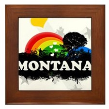 Sweet Fruity Montana Framed Tile