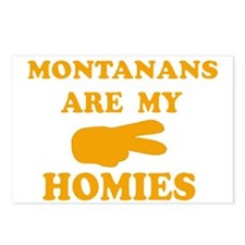Montanans are my homies Postcards (Package of 8)