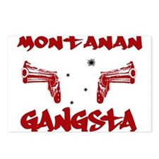 Montanan Gangsta Postcards (Package of 8)