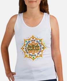 Multiple Sclerosis Lotus Women's Tank Top