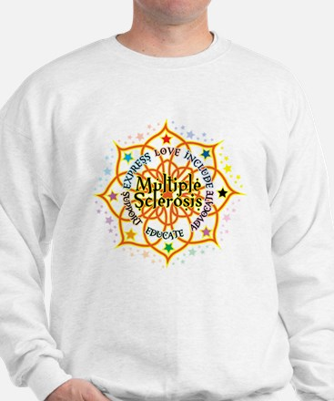 Multiple Sclerosis Lotus Sweatshirt