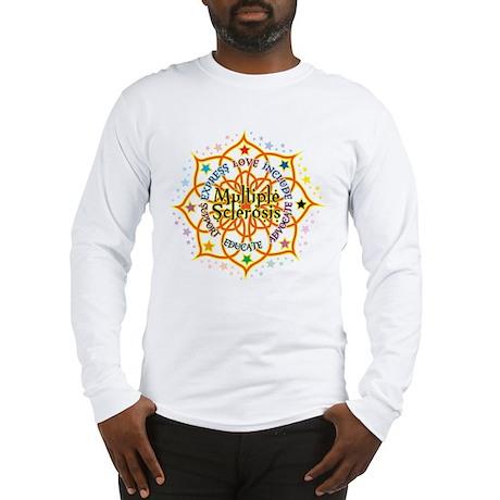 Multiple Sclerosis Lotus Long Sleeve T-Shirt